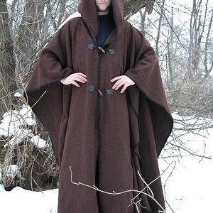 cbf6e6f30e5 Wool Cape Robe Cloak for sale. Available in  black flax linen    by ...