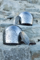 "Medieval Stainless Pauldrons ""Knight of Fortune"""