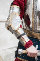"Medieval Western Arm Armour ""The King's Guard"""
