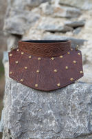 "Neck Guard Armor Gorget ""Bird of Prey"""