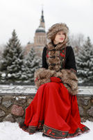 "Short Coat (Zupan) ""Russian Seasons"""