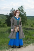 "Viking Coat Kaftan ""Ingrid"""