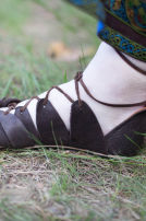 "Viking's Leather Sandals ""Ingrid"""