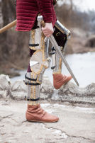 "Western Knight's Leg Armor ""The King's Guard"" SCA"