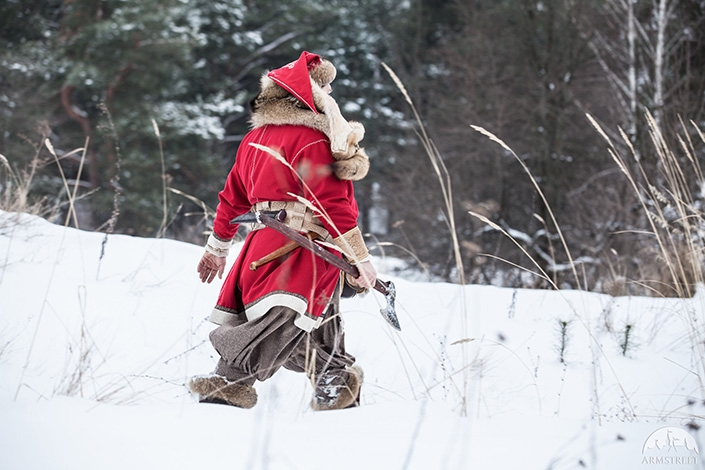 Woolen Viking Coat | Yule edition
