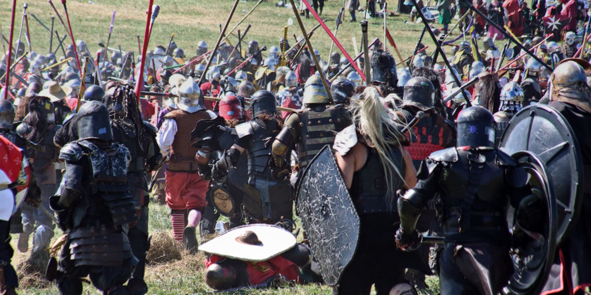 Main Battle at the Pennsic XL