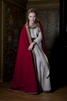 New medieval dress and cloak
