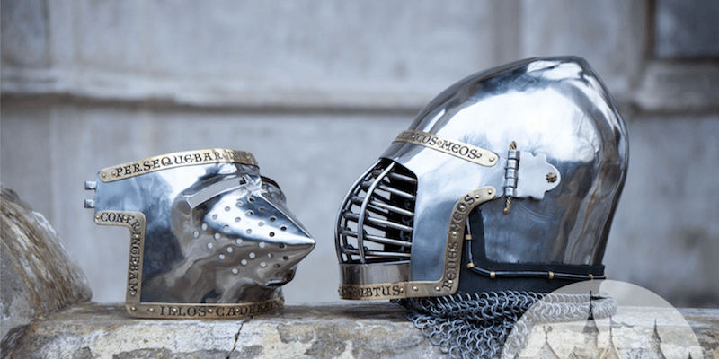 ArmStreet's SCA-legal period and fantasy helmets