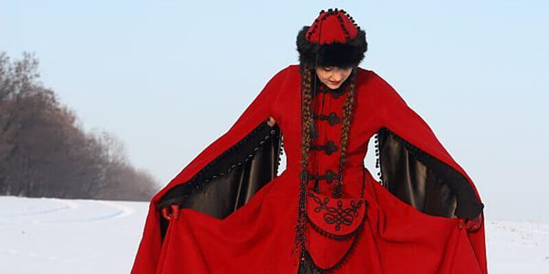 "New Collection Fantasy Medieval Coat ""Quenn of Shamakhan"""