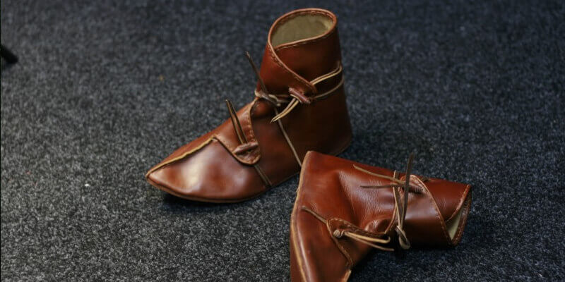 New dark-ages period handmade shoes available in store