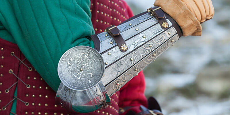 New line of armor for SCA-combat with exclusive design and finishing