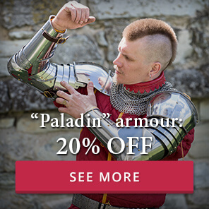 """Paladin"" armour: 20% off"