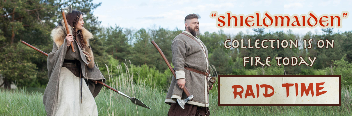 "Super deals on ""Shieldmaiden"" collection! Up to 20% off!"