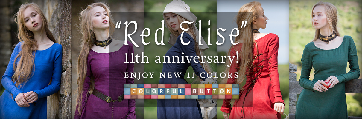 """Red Elise"" 11th anniversary! Enjoy new 11 colors"