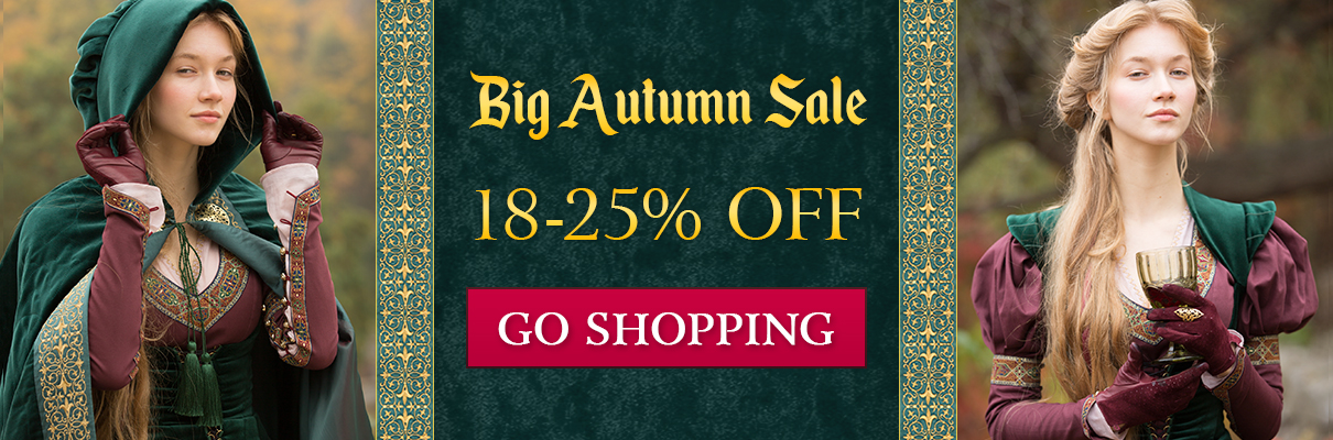 Big Autumn Sale! 18-25% off