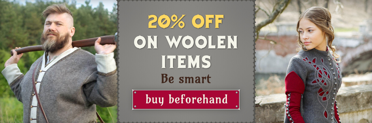 20% off on woolen items
