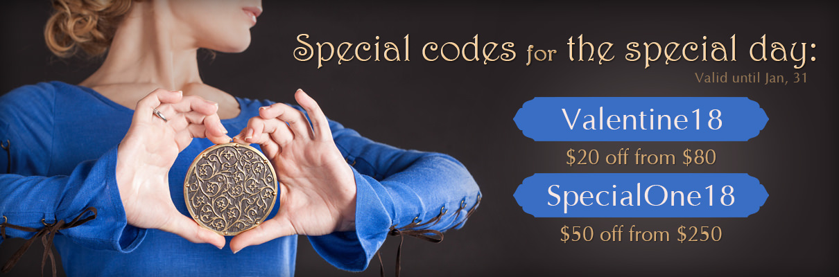 St.Valentine's Day special codes
