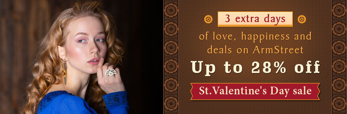 3 extra days St Valentine day sale!