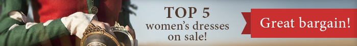 Top 5 women's costumes on sale! Great bargain!