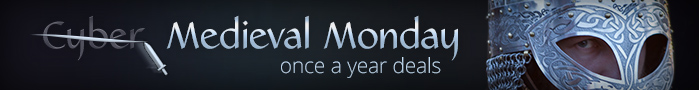 Cyber Monday - once a year deals up to 25% off