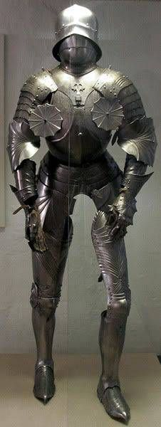 Gothic Knight Armor, Bavarian Military Museum
