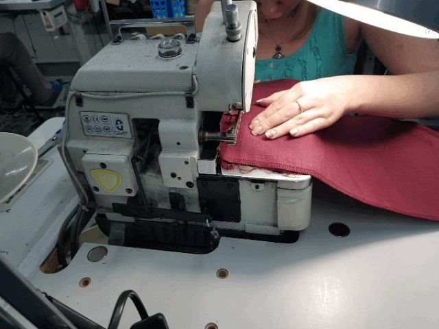 Sewing linen garments at ArmStreet
