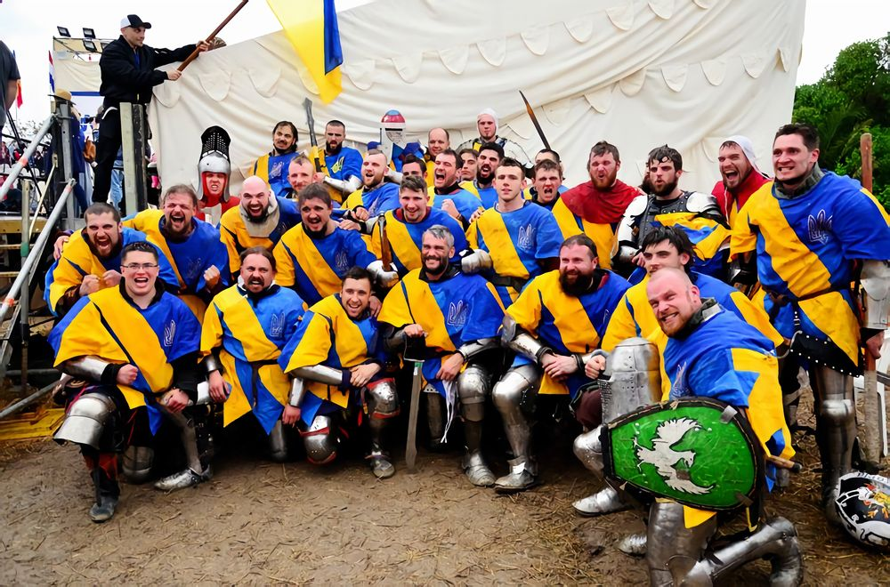 Ukrainian team at the Battle of the Nations
