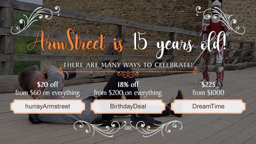 Happy Birthday, ArmStreet!