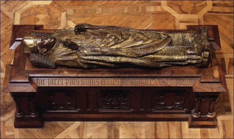 Bishop Mauricio's tomb, Burgos, Spain