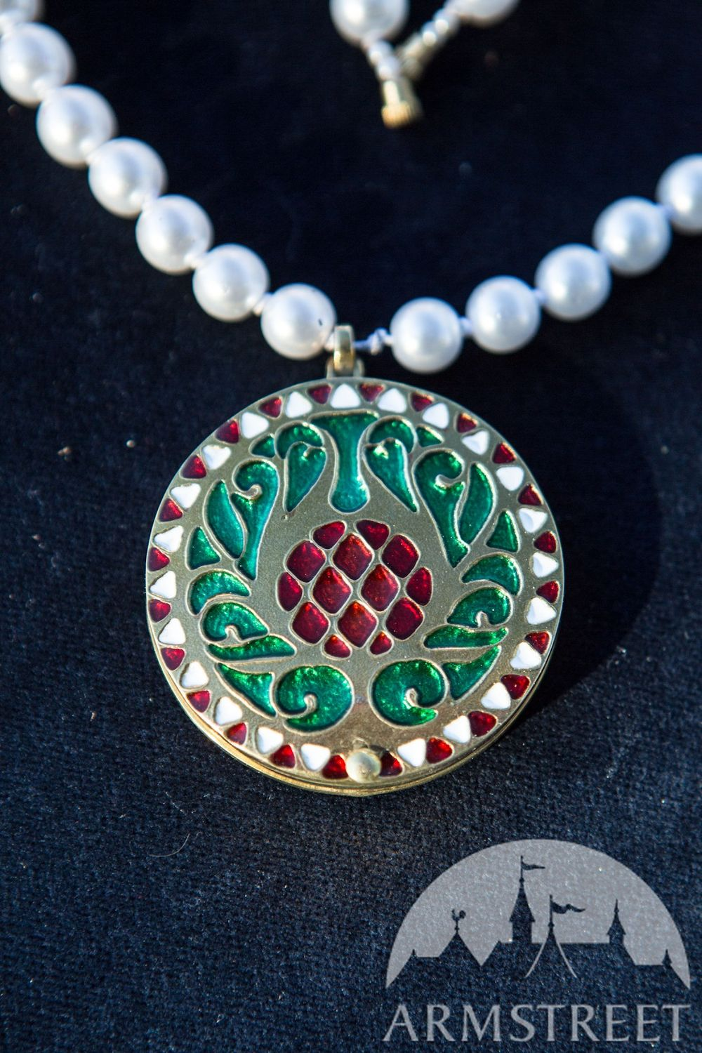 ArmStreet Enameled Locket