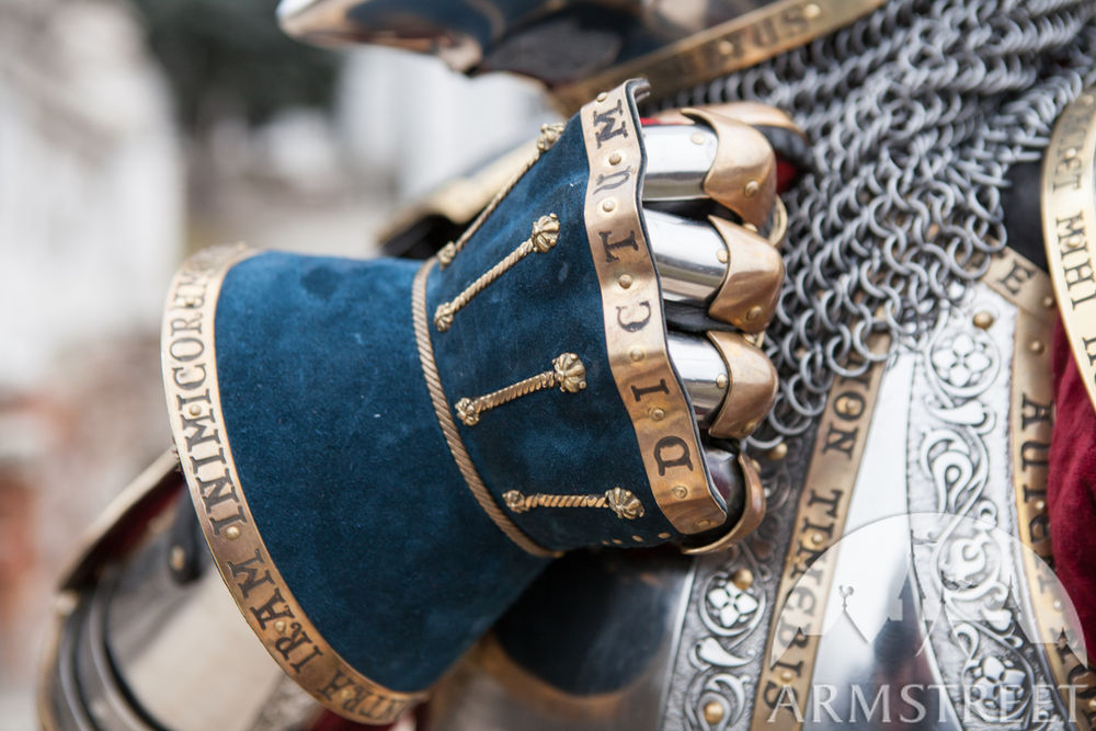 Exclusive Finger Gauntlets Hourglasses Leather covered version