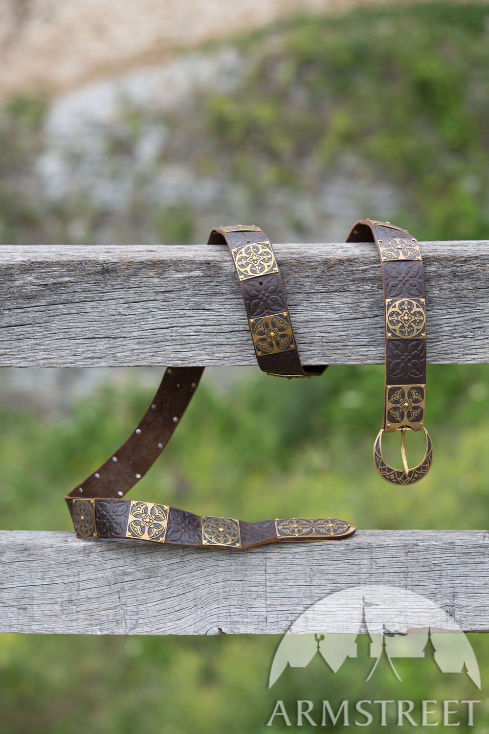 Romanesque style medieval belt