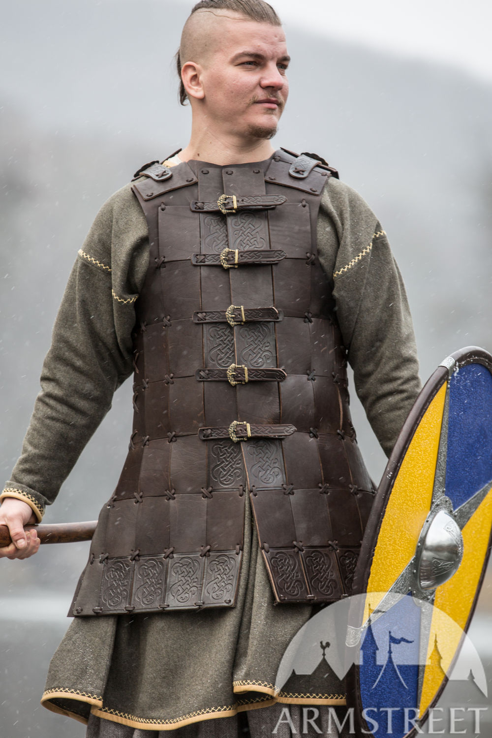 "Fantasy Viking Leather Armor ""Olegg the Mercenary"""