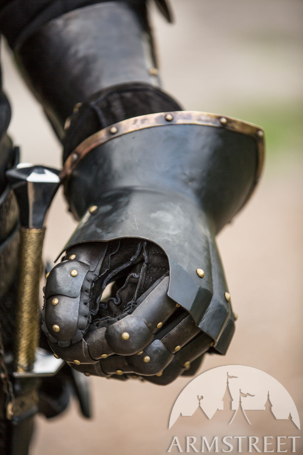 "Hourglass Finger Gauntlets ""The Wayward Knight"""