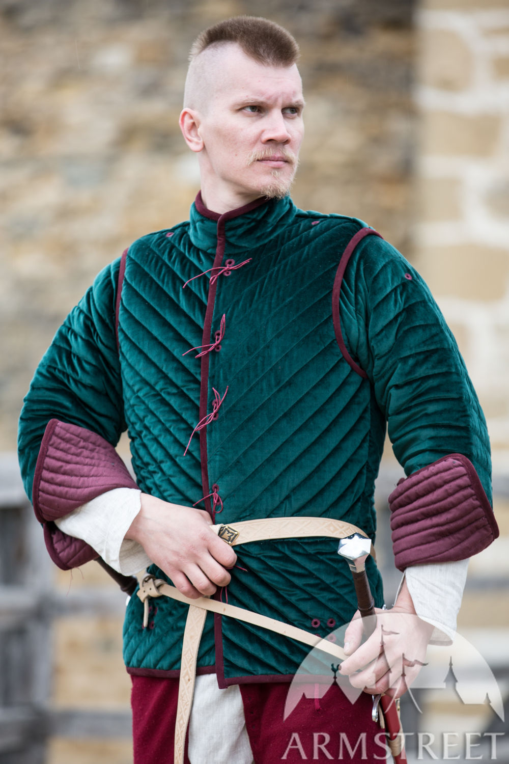 Luxurious Velvet Two Piece Gambeson Kingmaker