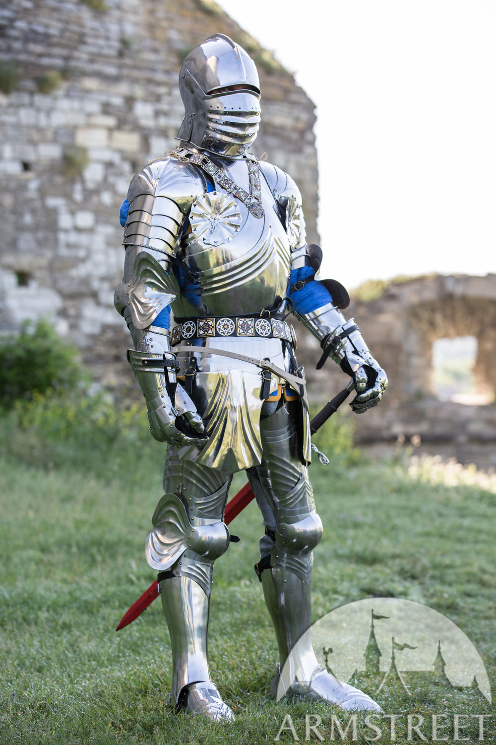 Medieval Knight Gothic Plate Armour Kit