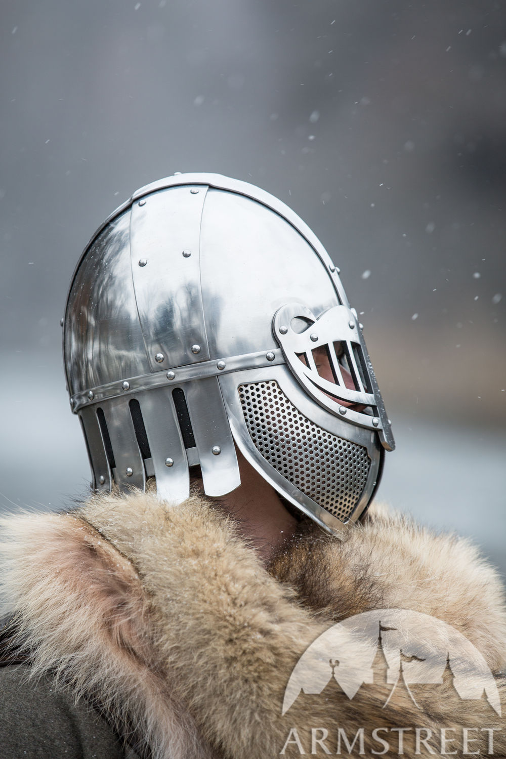 """Olegg the Mercenary"" Heavy Fighting Helmet"