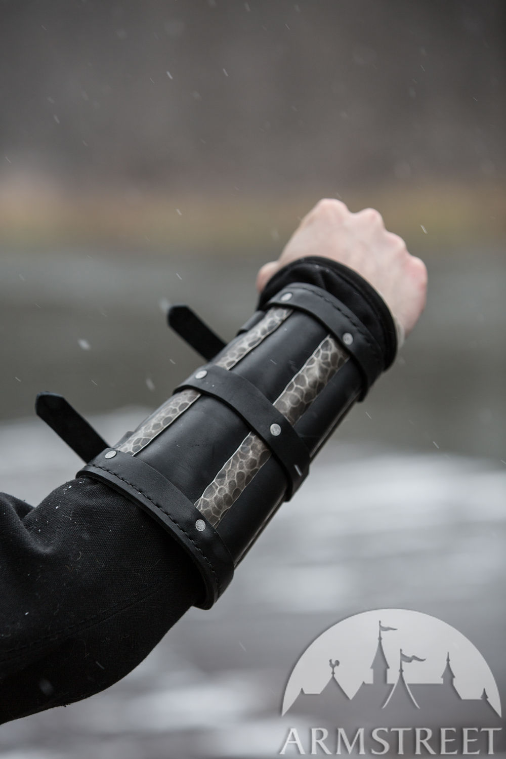 "Viking Splint Bracers ""Ragnvaldur the Traveller"""