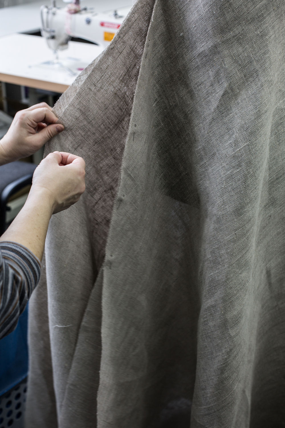 The creation of new sackcloth dress at ArmStreet