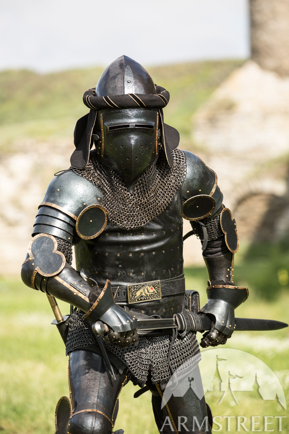 "Black Armor Kit ""The Wayward Knight"""