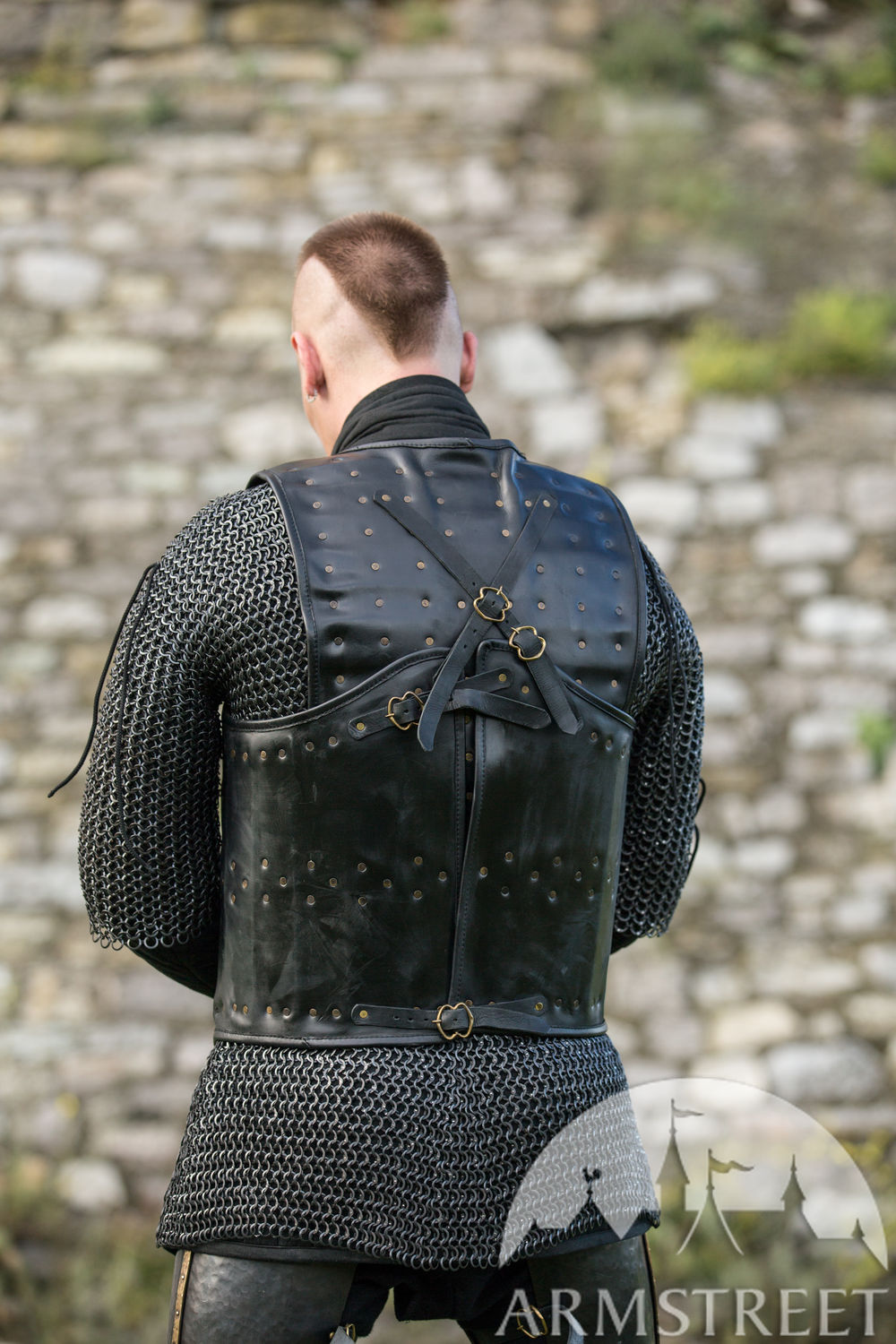 """The Wayward Knight"" Visby body armour"