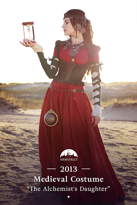 "Fantasy dress ""Alchemist's Daughter"""